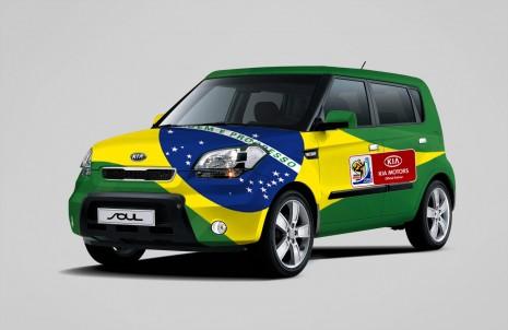 Kia Soul Copa do Mundo