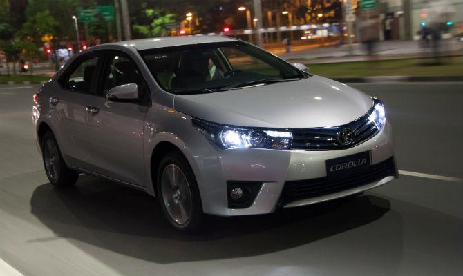 Simulação de Financiamento: Toyota Corolla 2015