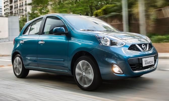 Nissan oferece ondições especiais de financiamento para New March e Novo Versa