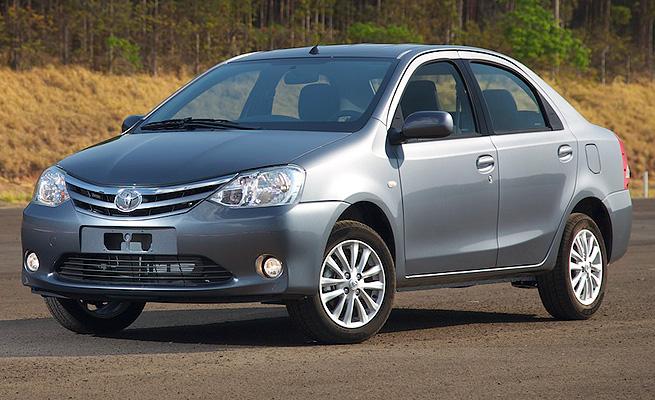 Simulação de Financiamento: Toyota Etios Sedan 2015 versão X