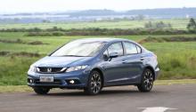 Simulação de Financiamento: Honda Civic 2016