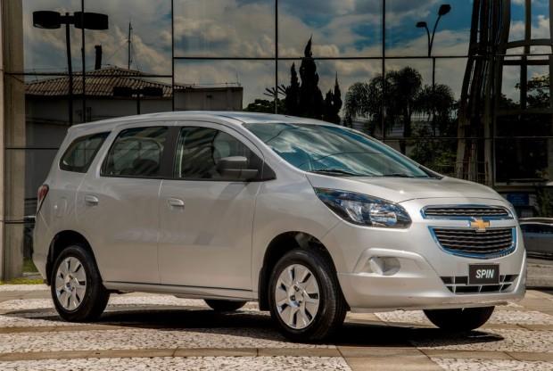 Simulação de Financiamento: Chevrolet Spin 2016