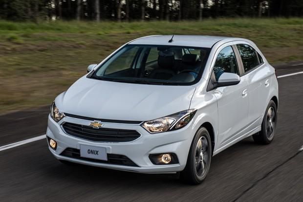 Chevrolet Onix 2018: Simulação de financiamento