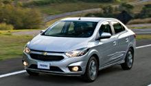 Chevrolet Prisma 2018: Simulação de financiamento