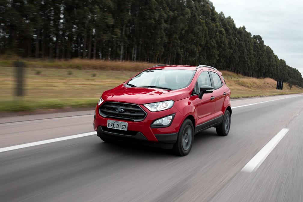Ford EcoSport 2018: Simulação de financiamento