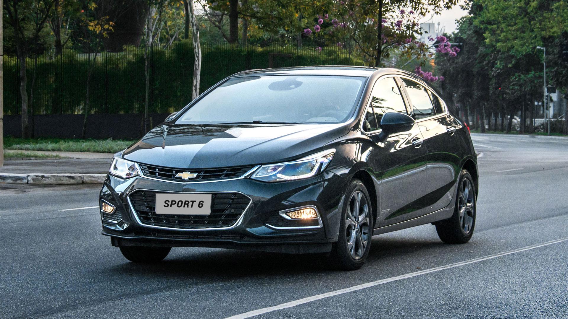 Chevrolet Cruze Sport6 2018: Simulação de financiamento