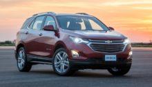 Chevrolet Equinox 2018: Simulação de financiamento