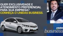 Unidas Business, novo serviço corporativo da Unidas