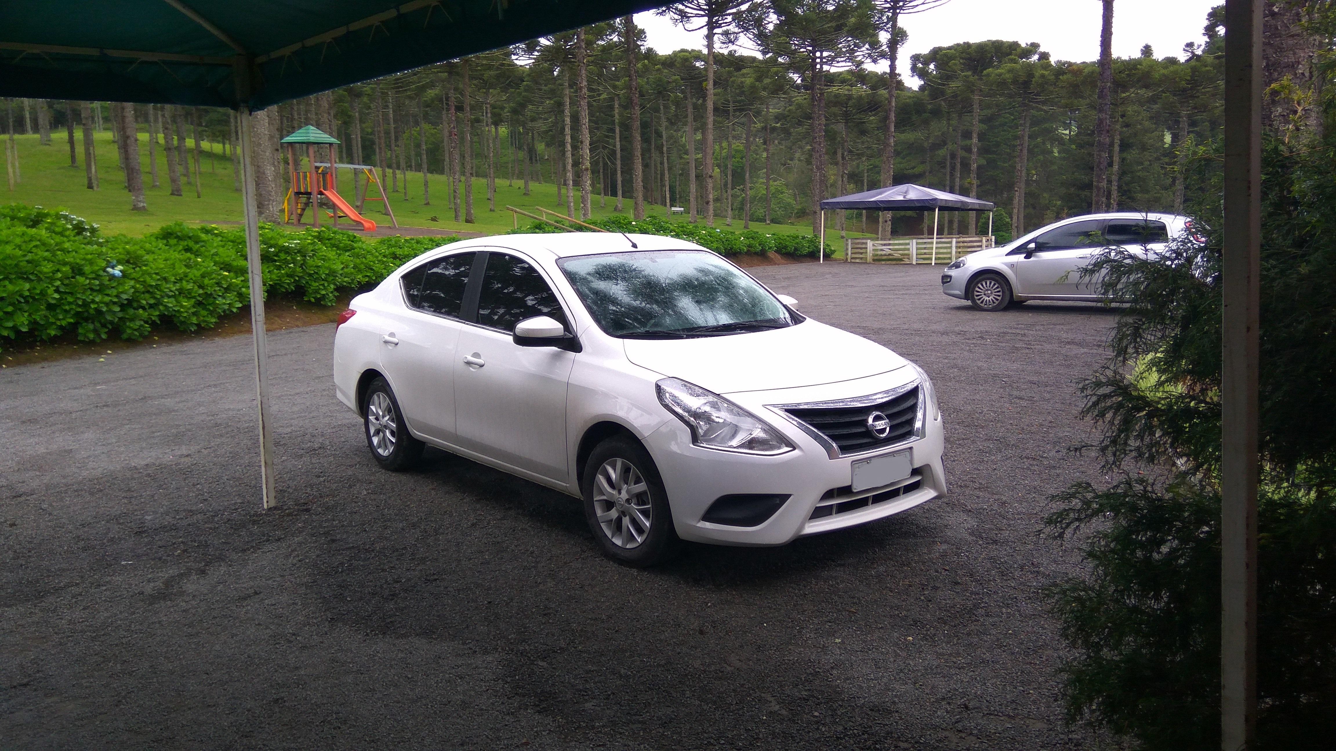Nissan Versa da Localiza Seminovos
