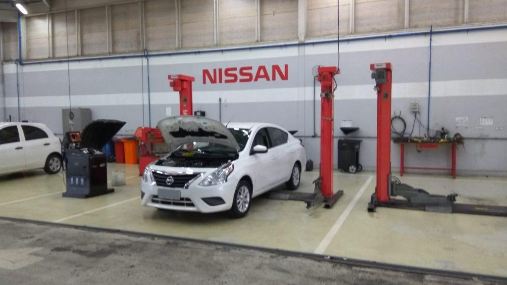 Revisão Nissan Versa