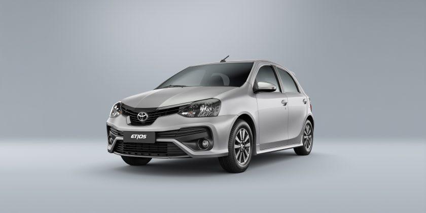 Conheça as novas versões do Toyota Etios 2019, assim como os preços e a simulação de financiamento