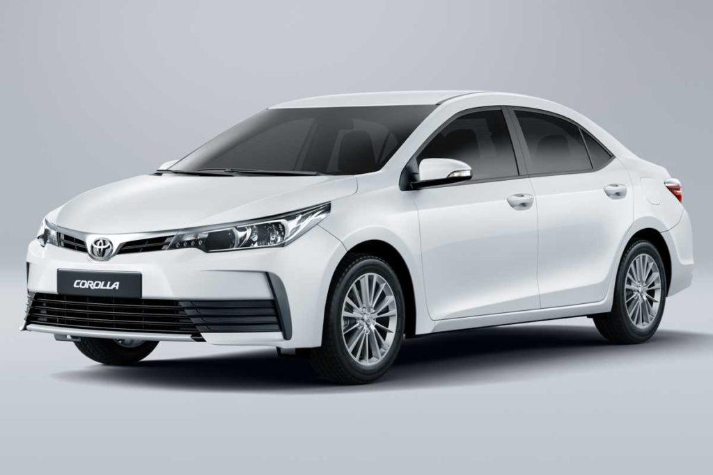 Toyota Corolla 2019: Simulação de financiamento