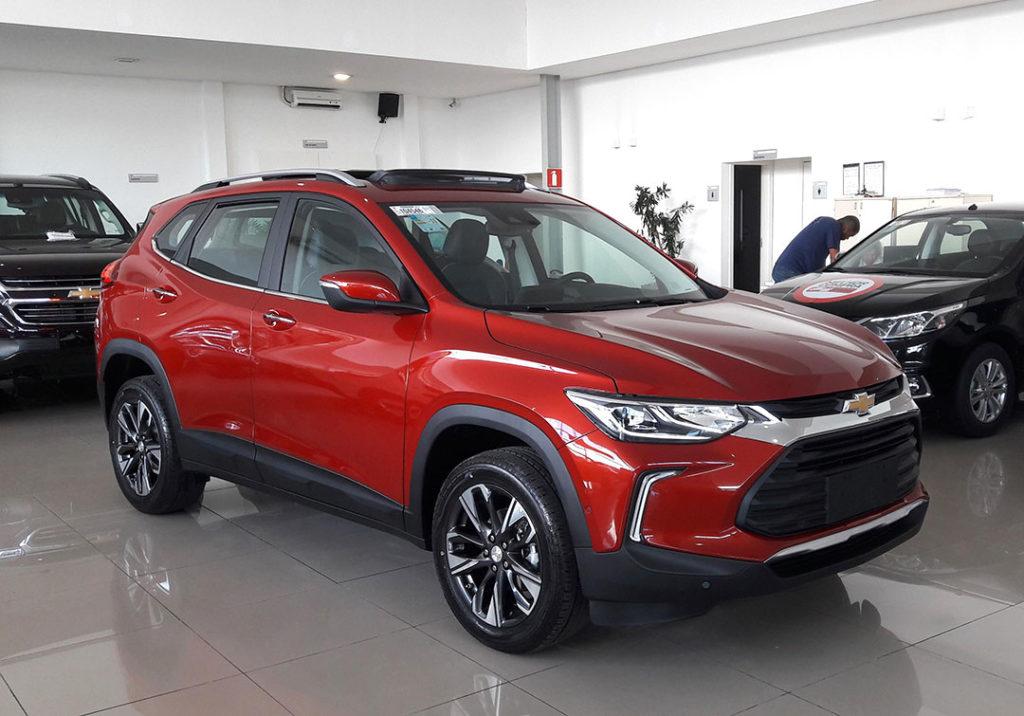 Novo Chevrolet Tracker PcD 2021: Simulação de financiamento