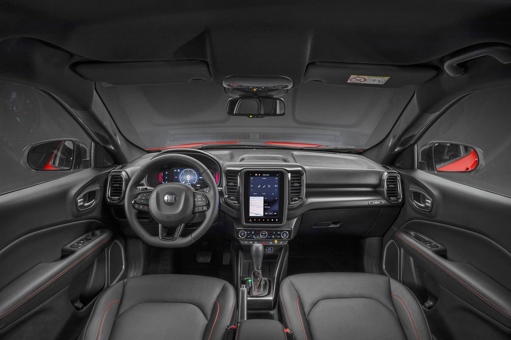 Fiat Toro 2022 Interior
